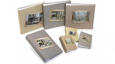 Fotoalbum na růžky 30x30/100 stran RETRO LOOK auto