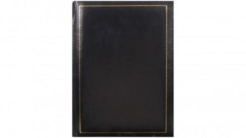 Jednobarevné fotoalbum 10x15/200 TRADITION černé