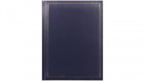 Jednobarevné fotoalbum 10x15/200 TRADITION modré