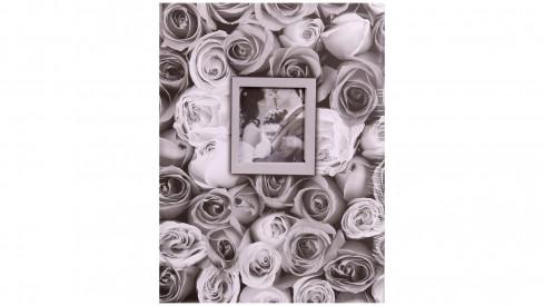 Fotoalbum 13x18/100 foto ANYWHERE ROSES šedé