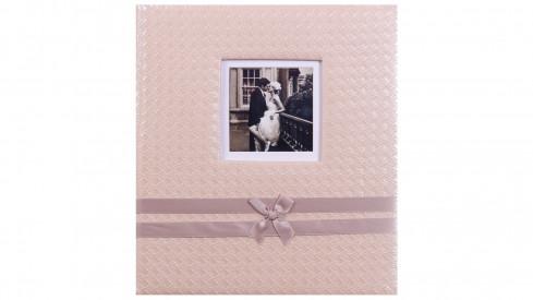Svatební fotoalbum na růžky Now and Forever zlaté