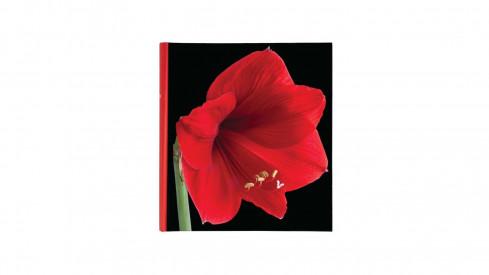 Klasické fotoalbum Botanics 29x32/100s. červené