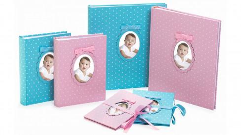 Dětské fotoalbum 10x15/200 YOUNG CHILD růžové