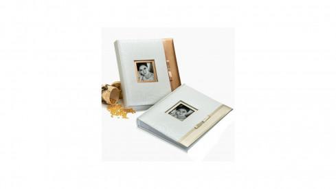 Svatební fotoalbum 13x18/200 GLAMOUR zlaté