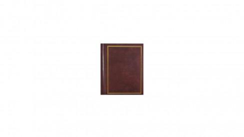 Samolepící fotoalbum 23x28/60s. CLASSIC hnědé