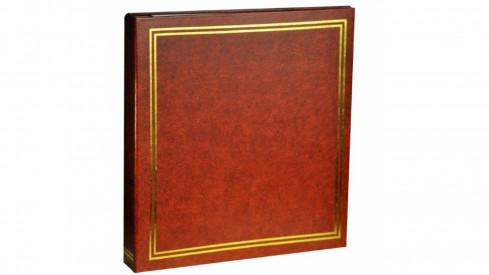 Samolepící fotoalbum 23x28cm/100stran hnědé