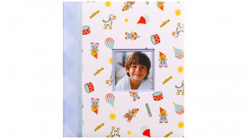 Dětské fotoalbum na růžky HAPPY KIDS modré