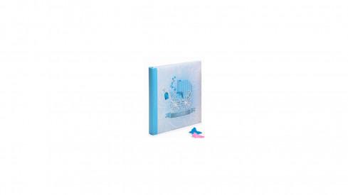 Dětské fotoalbum na růžky BABY MOVE 29x32/60s. modré