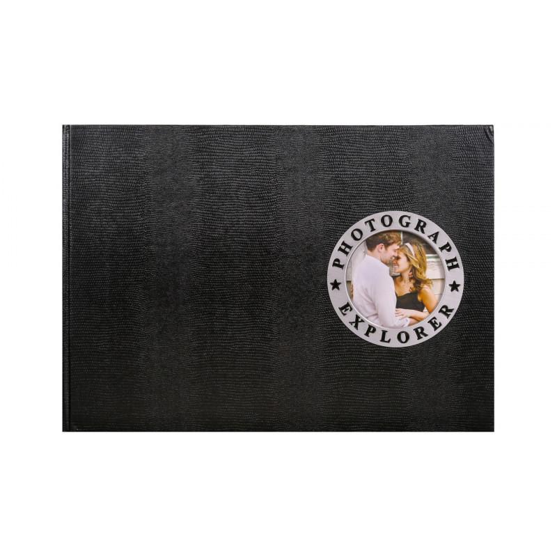 Fotoalbum na růžky 34x24/60s. SHOWTIME černé