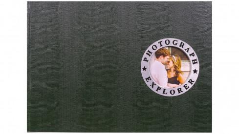 Fotoalbum na růžky 34x24/60s. SHOWTIME zelené