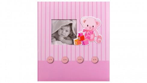 Dětské fotoalbum na růžky BABY´s MEMORIES růžové