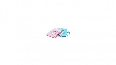 Dětské leporelo na 14 foto 10x15 Young Child růžové