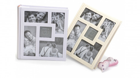 Svatební fotoalbum 13x18/200 pop AMORE bílé
