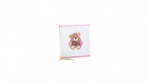 Dětské fotoalbum na růžky  BABY´S LOOP 29x32/60 růžové