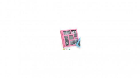 Dětské zastrkávací fotoalbum 10x15/200 foto BABY´s VISION růžové