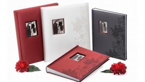 Fotorůžkové fotoalbum 29x32/60s. SECRETS černé