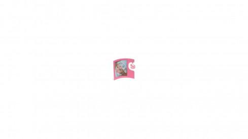 KR   LUCKY  FRAME  6x9cm rosa
