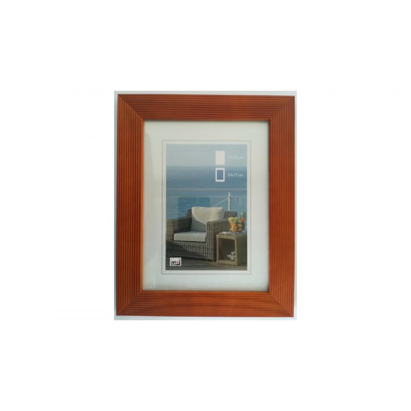 Dřevěný fotorámeček HR-23 30x40 cherry