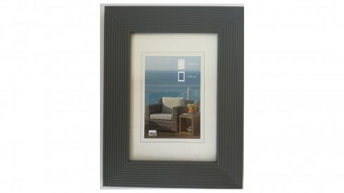 Dřevěný fotorámeček HR-23 13x18 šedivá