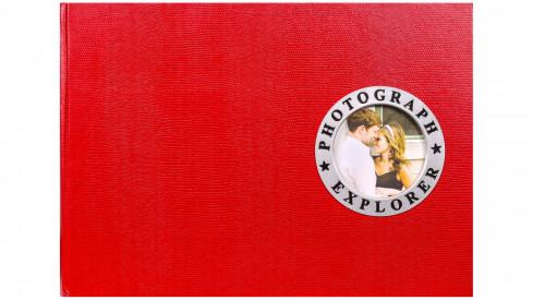 Fotoalbum na růžky 34x24/60s. SHOWTIME vínové
