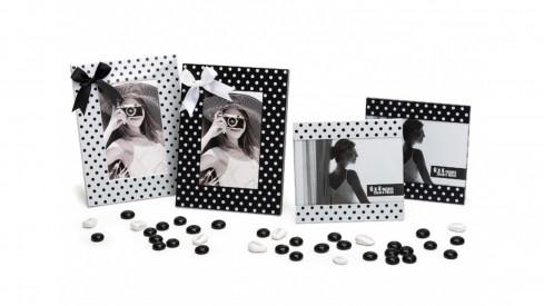 Fotorámeček DOTS 15x10 černý