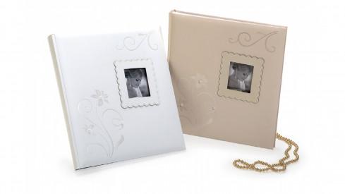 Svatební fotoalbum 29x32/60s. FOREVER WE krémové