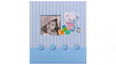 Dětské fotoalbum na růžky BABY´s MEMORIES modré