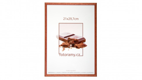 Dřevěný fotorámeček DR001K 10x15 03 mahagon