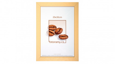 Dřevěný fotorámeček DR011K 9x13 04 natural