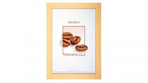 Dřevěný fotorámeček DR011K 21x30 A4 04 natural