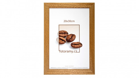 Dřevěný fotorámeček DR011K 21x30 A4 06 pinie