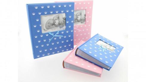 Dětské fotoalbum 10x15/300 MIRACLE modré
