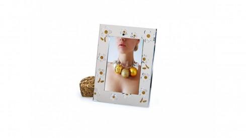 Kovový svatební fotorámeček 13x18 LA CORUNA gold