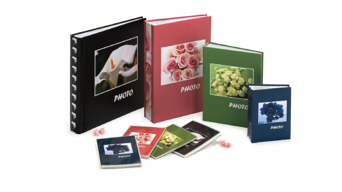 Fotoalbum na růžky 30x30/100s. BOUQUET zelené