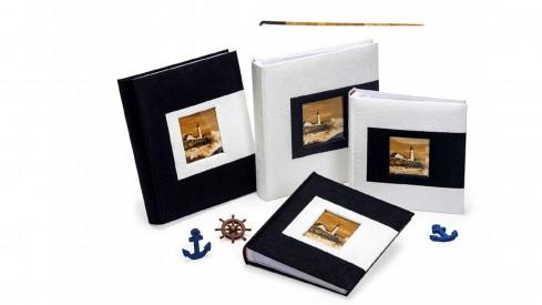 Svatební fotoalbum 10x15/200 foto MULBERRY bílé