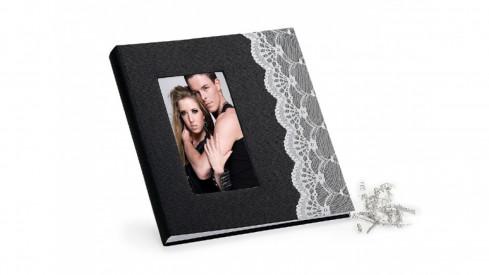 Svatební fotoalbum na růžky YES černé
